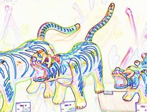 アートな虎